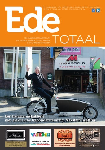 ede totaal april 2016 onlinepeters communicatie - issuu