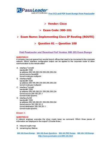 free cisco 200-060 exam dumps in pdf