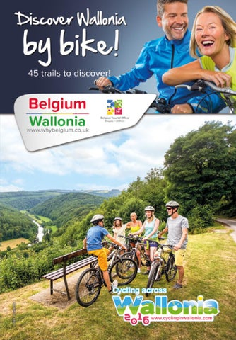 Discover Wallonia by bike by Tourism Wallonia Brussels Belgium