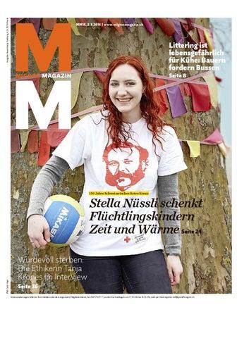 Migros magazin 18 2016 d ne by Migros-Genossenschafts-Bund - issuu