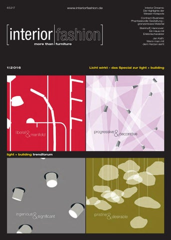 Interiorfashion 12016 By Interiorfashion Issuu