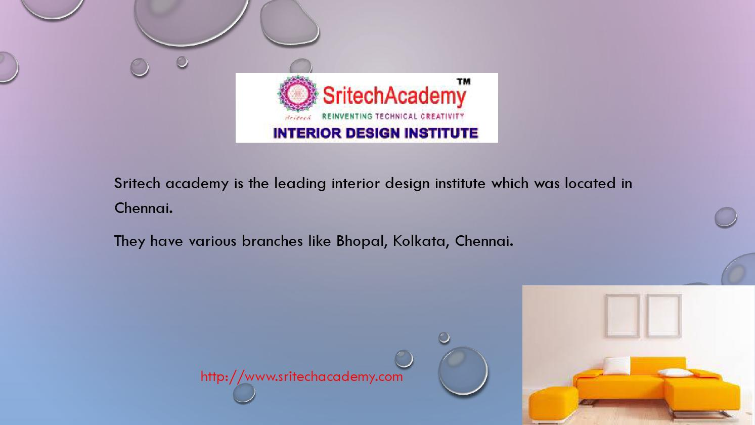 interior designing course in kolkata sritech academy by