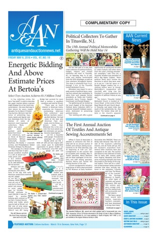 Antiques Auction News 050616 By