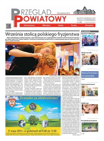 Przegląd Powiatowy Nr 221 Kwiecień 2016 By Starostwo Powiatowe We