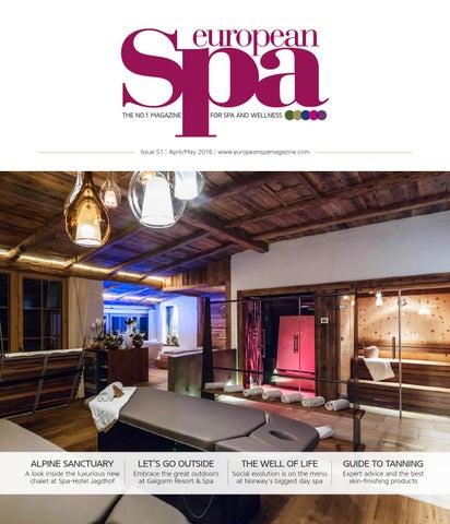 European Spa magazine Issue 51 by European Spa magazine - issuu