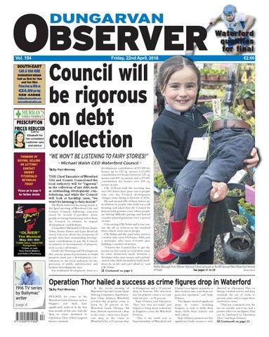 Dungarvan Observer 22 4 2016 Edition By Dungarvan Observer Issuu