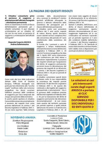 Notiziario ANUSCA 2015 - 12 - Dicembre by ANUSCA - issuu