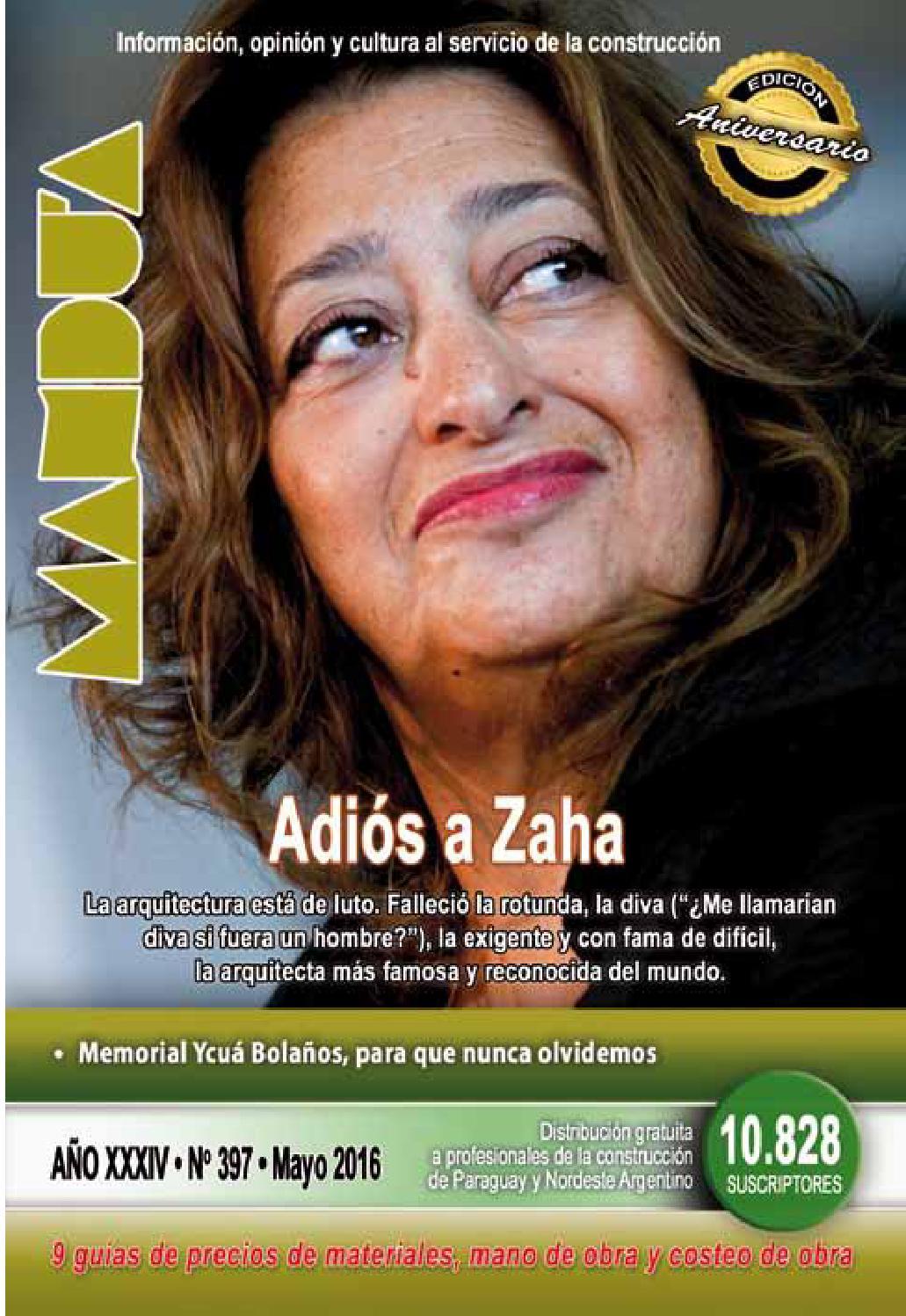 Revista Mandu\'a - #397 - Mayo 2016 by Revista Mandu\'a - issuu