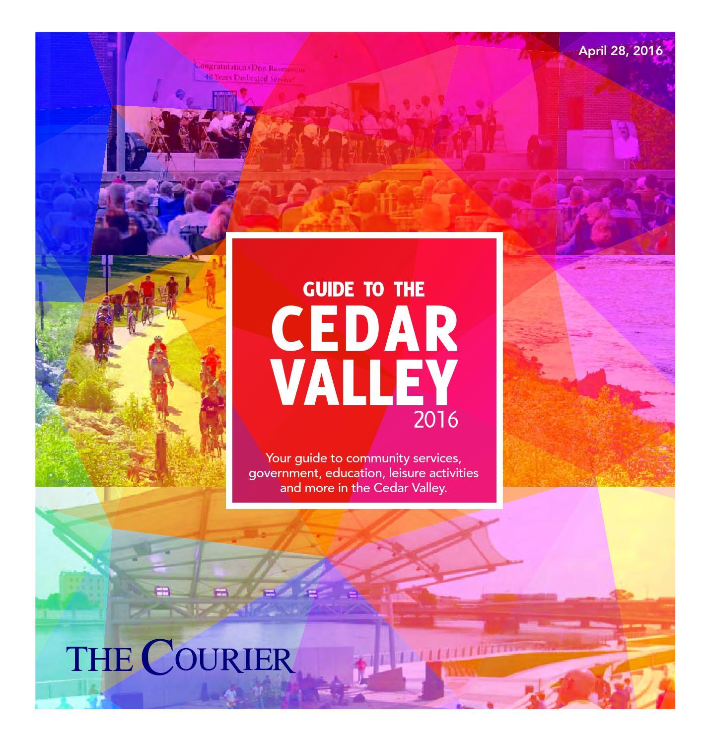 Guide to the cedar valley 2016 by waterloo cedar falls courier issuu fandeluxe Gallery