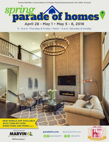 2016 Spring Parade of Homes Magazine by Home Builders Association ...