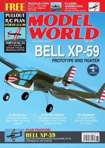 Radio controlled model world june 2016 by Traplet