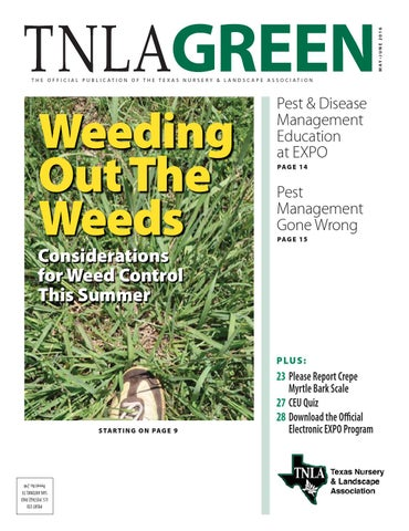 Tnla Green Magazine May June 2016 By