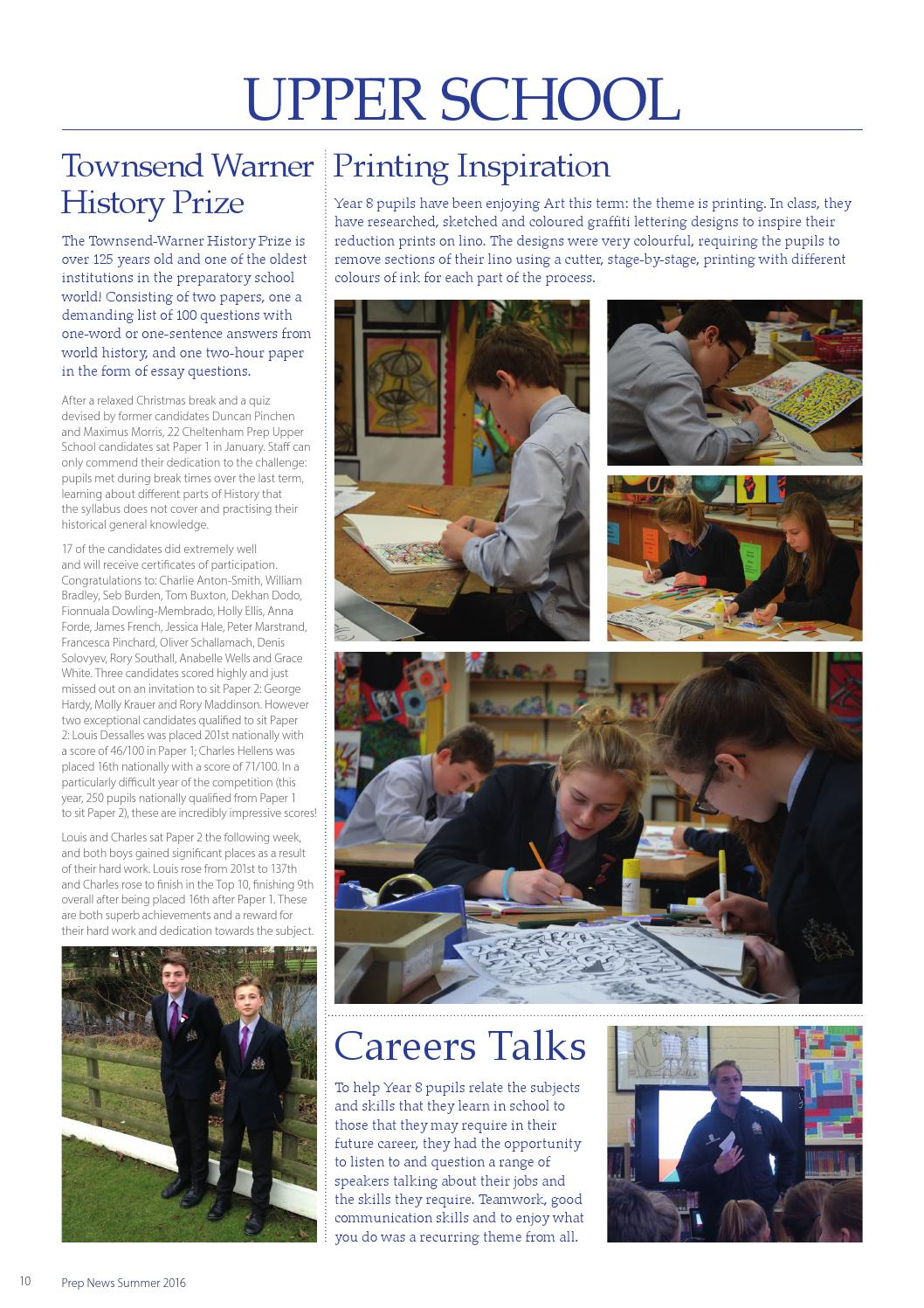 Prep News Summer 2016 by Cheltenham College - issuu