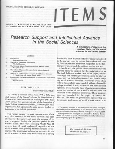 Items Vol. 37 No. 2-3 (1983) by SSRC\'s Items & Issues - issuu