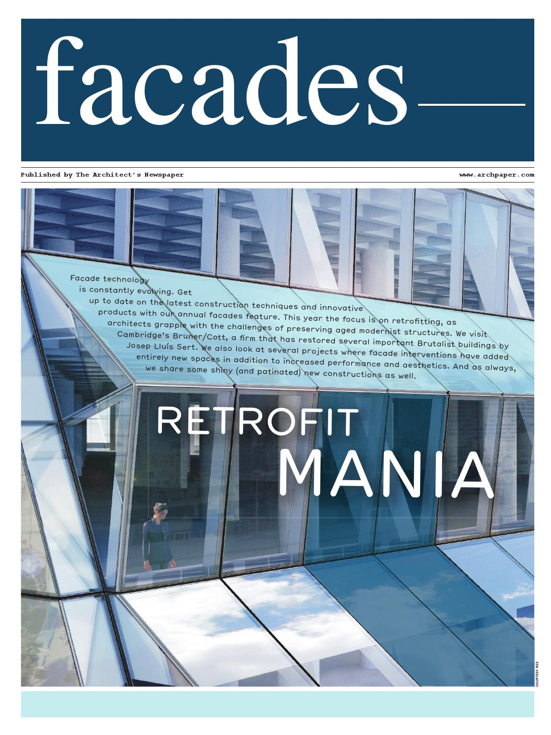 Facades Supplement 2016 By The Architects Newspaper