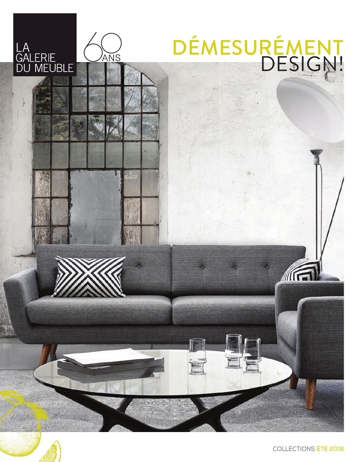 La galerie du meuble brochure collections t 2016 by la for La galerie du meuble