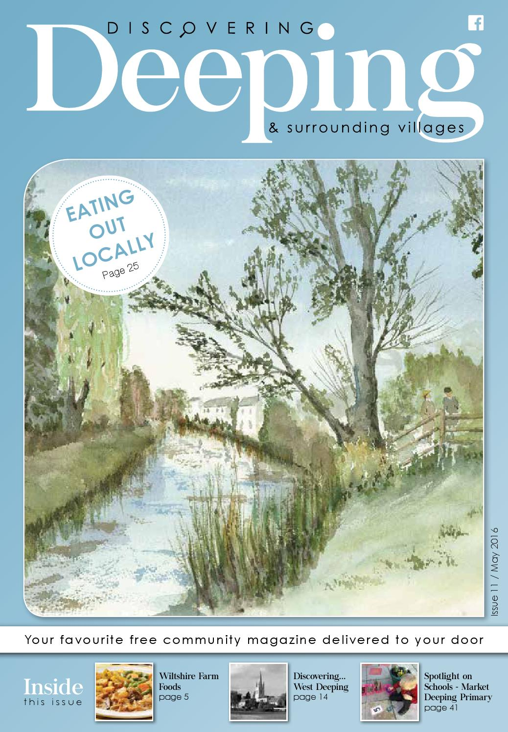 Discovering Deeping issue 011, May 2016 by Discovering Magazines - issuu