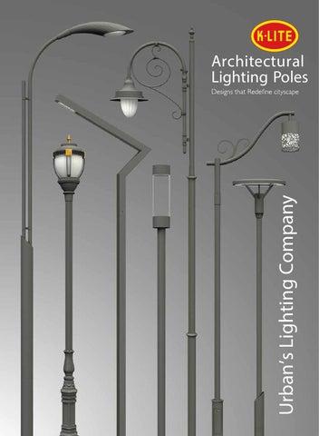Klite Architectural Lighting Poles Nov2015v1 300dpi By