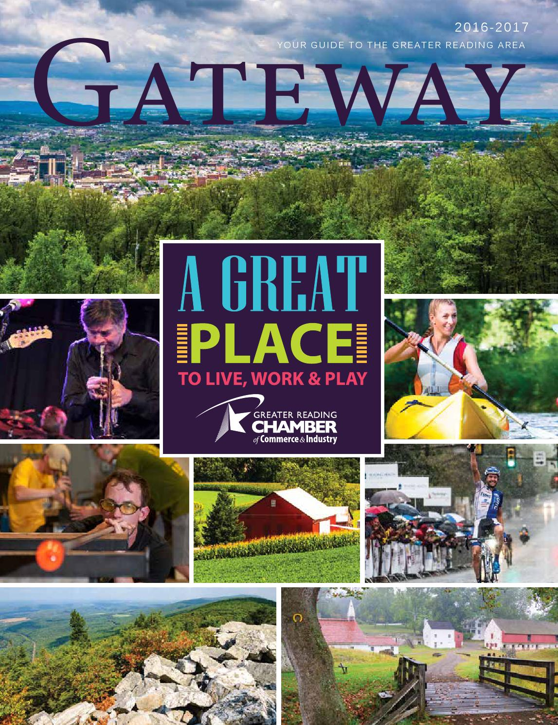 Greater Reading Chamber of Commerce GATEWAY 2016 by Hoffmann