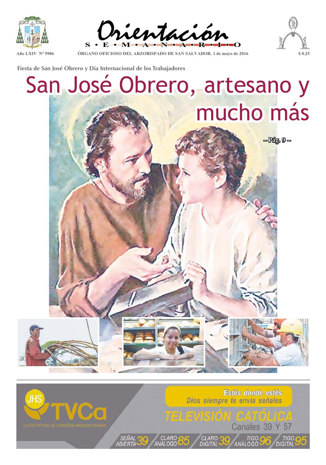 13627c77584a9 Orientación 1 mayo 2016 by Arzobispado de San Salvador - issuu