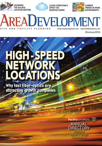 Area Development Magazine Directory 2016 by AreaDevelopment