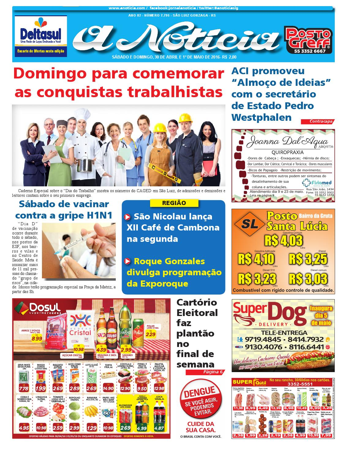 d72b37d01 Edição de 30 de abril e 1º de maio de 2016 by Luiz Fernando Natividade  Rocha - issuu