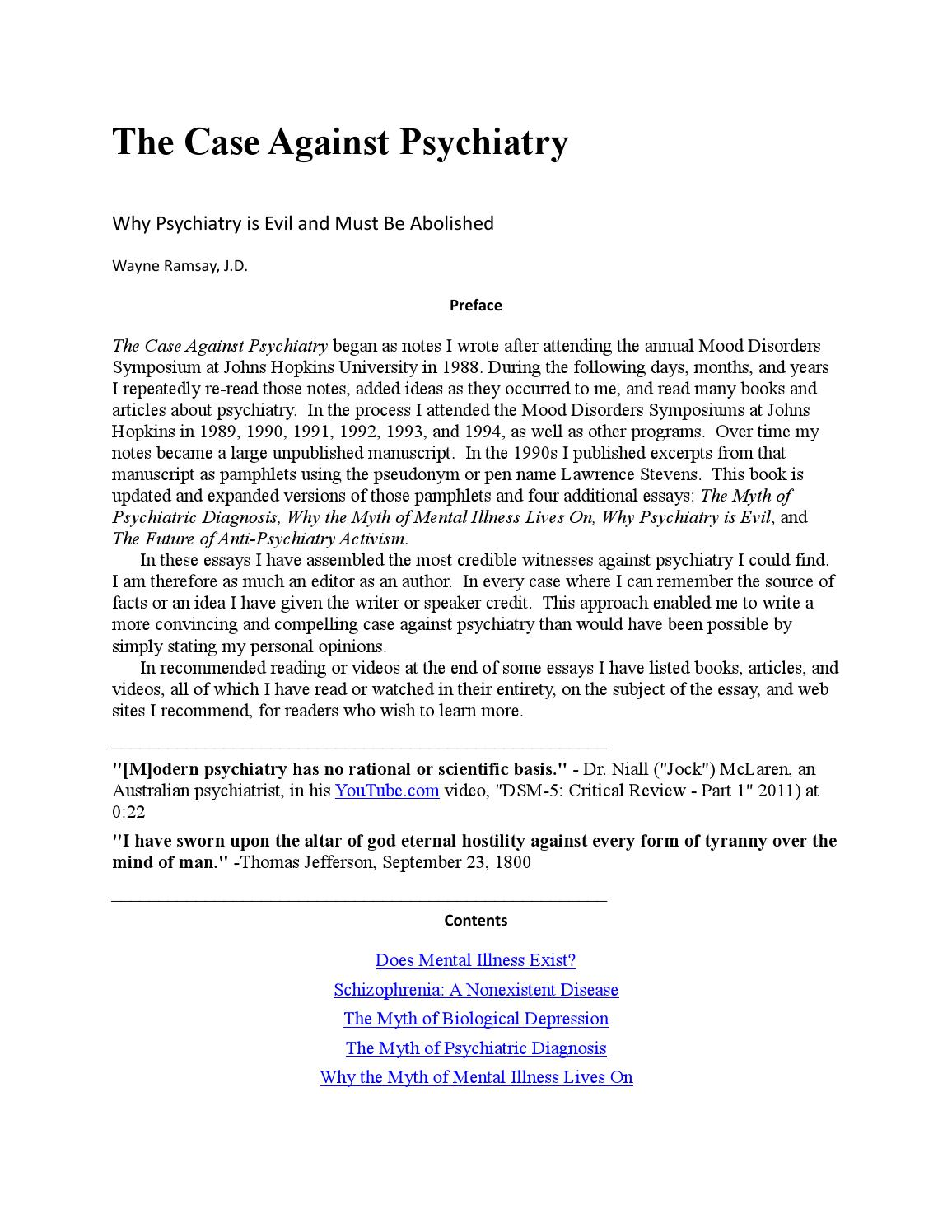 The Case Against Psychiatry By Ario Issuu Dc Motor Forward And Reverse Circuit Youtube