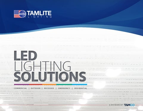 Tamlite Led Catalog By Tamco Group Issuu