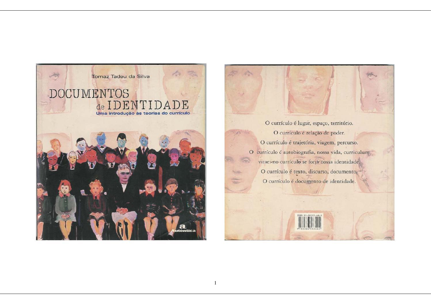 Documentos de identidad una introducción a las teoría del currículo ...