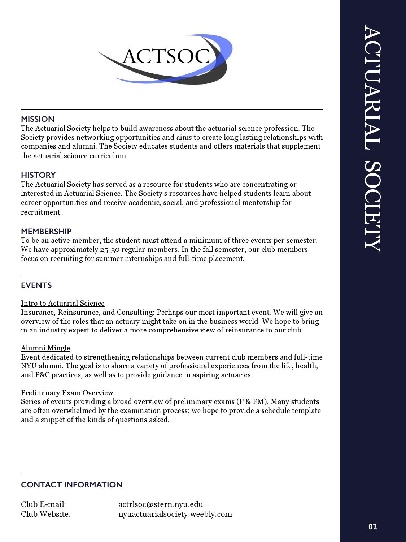 2016-2017 NYU Stern Student Engagement Guide by NYU Stern