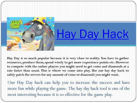 Hay day hack by Hay Day Hack - issuu