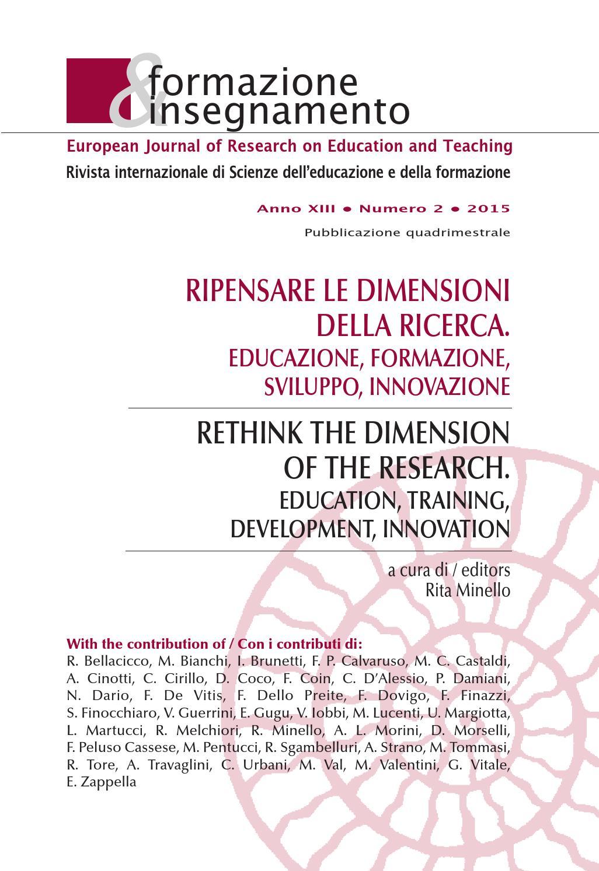 Formazione & Insegnamento 2 2015 By Pensa Multimedia Issuu