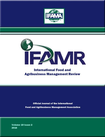 e6d6f6350 Volume 19 Issue 2 by IFAMA - issuu