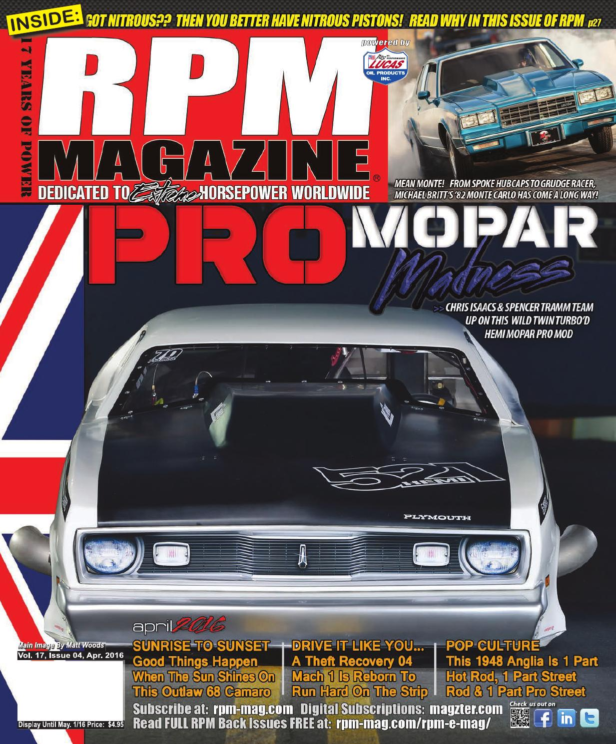 RPM Magazine April 2016