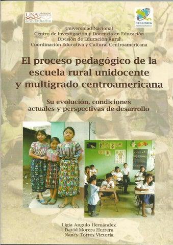 El Proceso Pedagogico De La Escuela Rural En Centroamérica