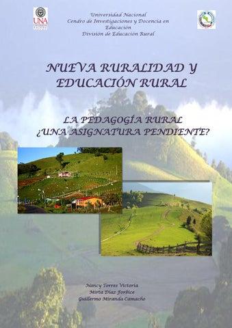 Nueva Ruralidad Y Educacion Rural By Proyecto Tic Issuu