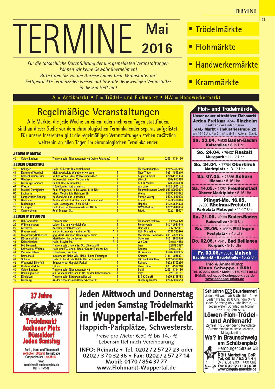Termine Troedelmaerkte 0516 By Gemi Verlags Gmbh Issuu