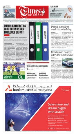 Times of Oman - May 1, 2016 by Muscat Media Group - issuu