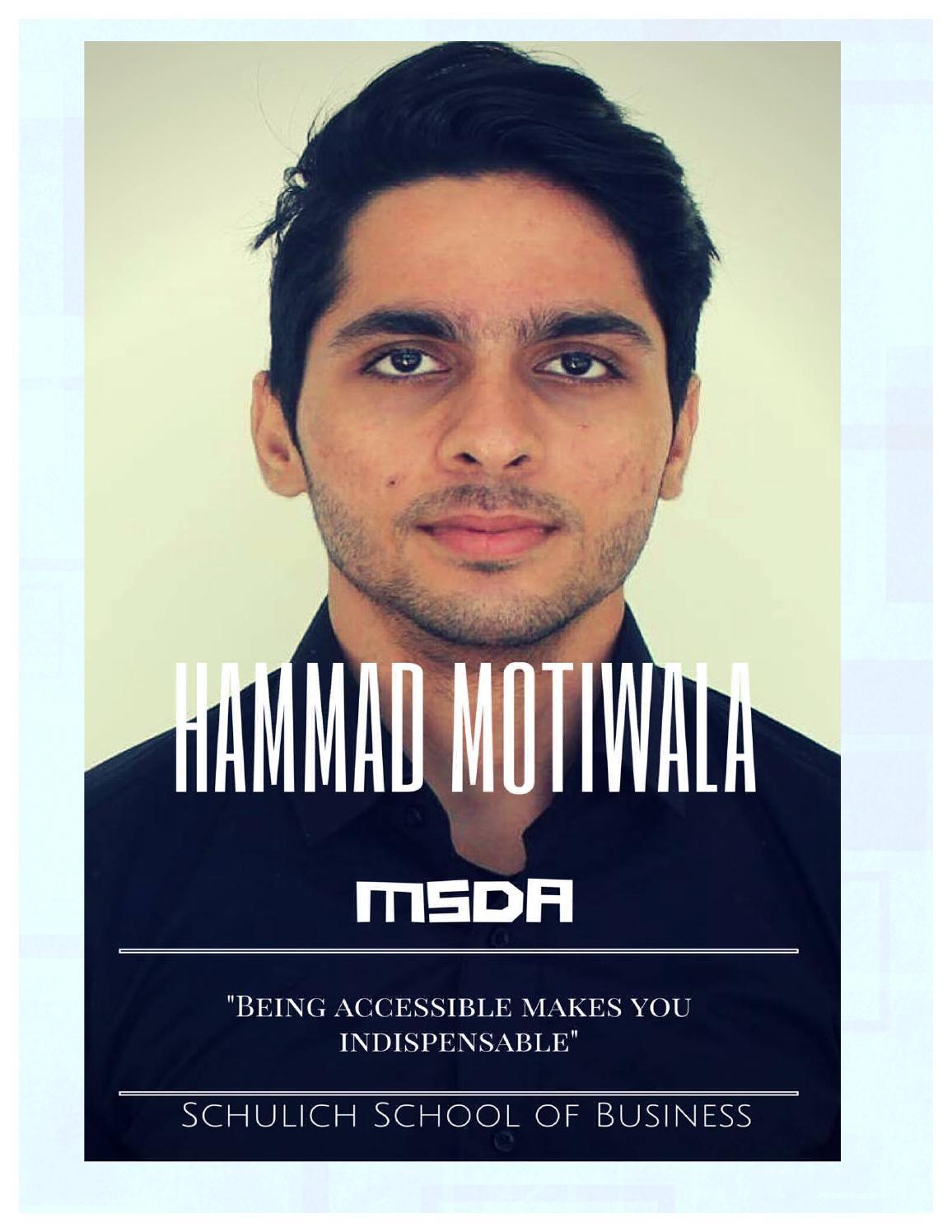 Management Skills Development Assignment by Hammad Motiwala - issuu