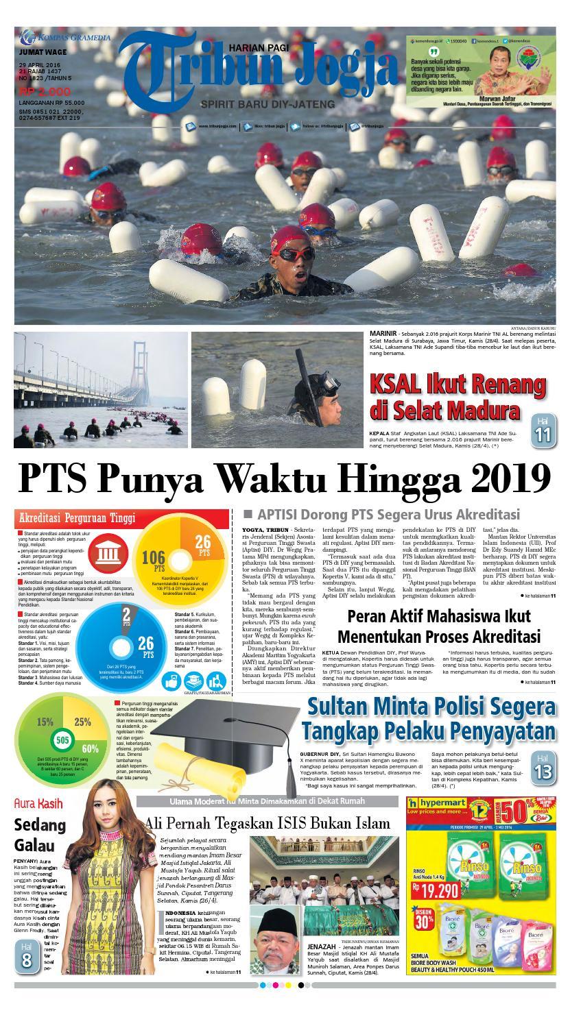 Tribunjogja 29 04 2016 By Tribun Jogja Issuu Fcenter Meja Rias Siantano Mr 905 Jawa Tengahdiyjawa Timur