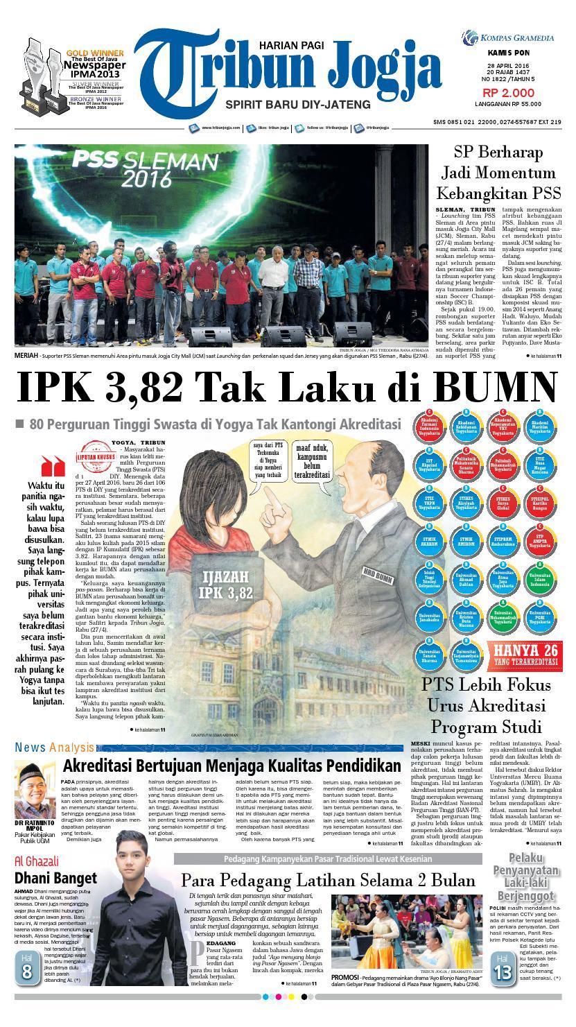 Tribunjogja 28 04 2016 By Tribun Jogja Issuu Produk Ukm Bumn Bale Sehat Teh Rosella Merah 3 Box
