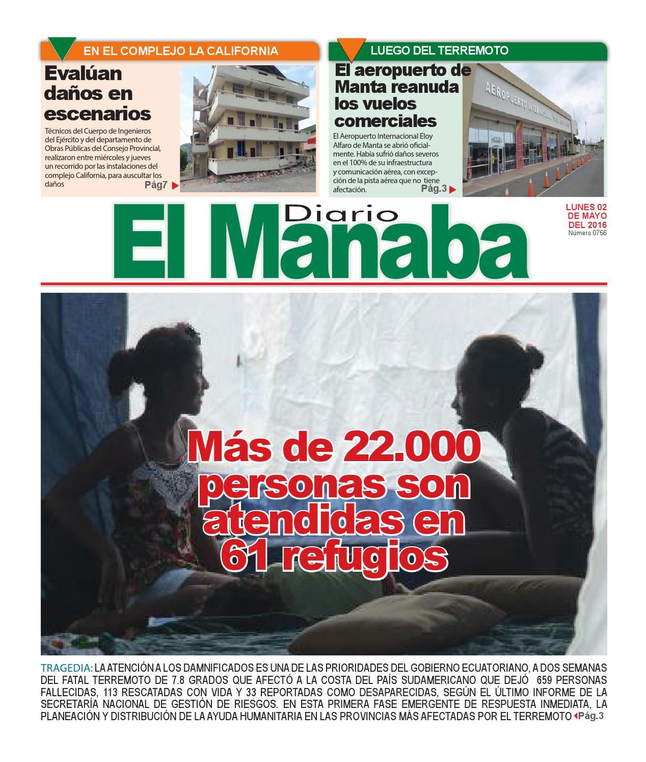 El manaba lunes 02 de mayo del 2016 by elmanaba - issuu