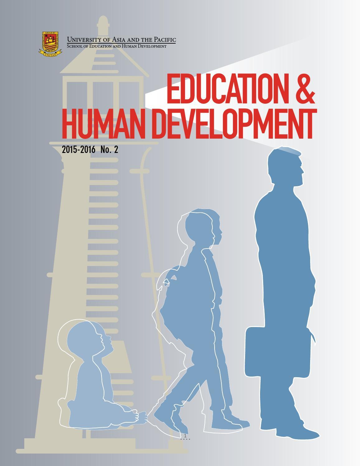 Education & Human Development Issue 2 by Jimmy Hilario - issuu