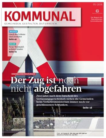 Kommunal 5/2016 by Gemeindebund - issuu