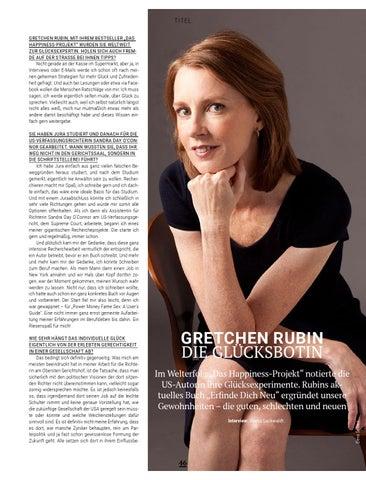 Page 46 of Gretchen Rubin: Die Glücksbotin