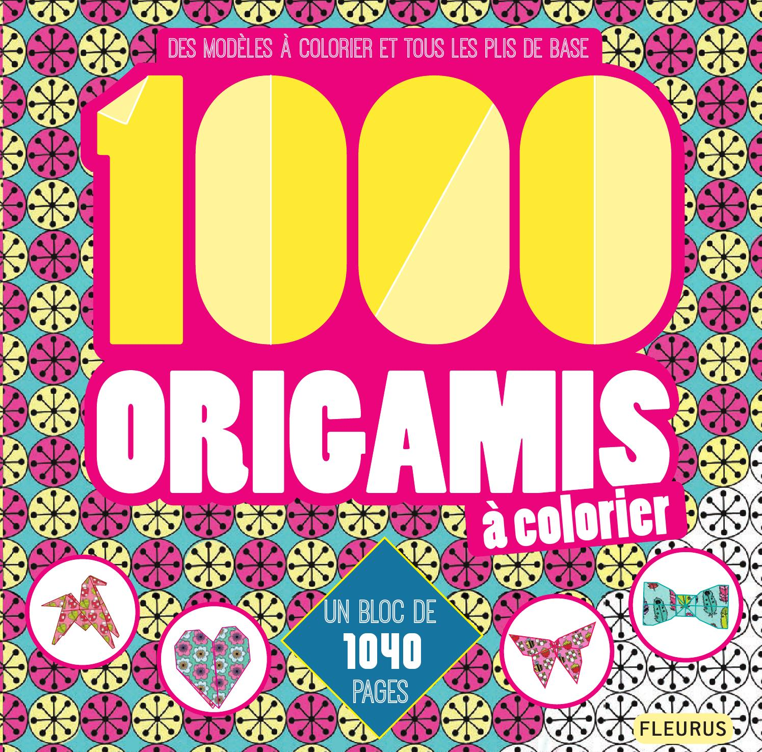 1000 origamis coloriage by fleurus editions