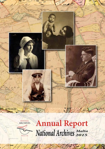 90199b19744 NAM Official Annual Report 2015 by National Archives Malta - issuu
