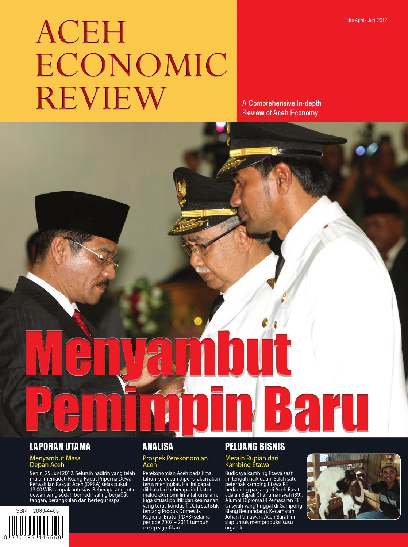 Aceh Economic Review Edisi Ii April Juni 2012 By Produk Ukm Bumn Bahan Songket Sulam Katun Merah Issuu