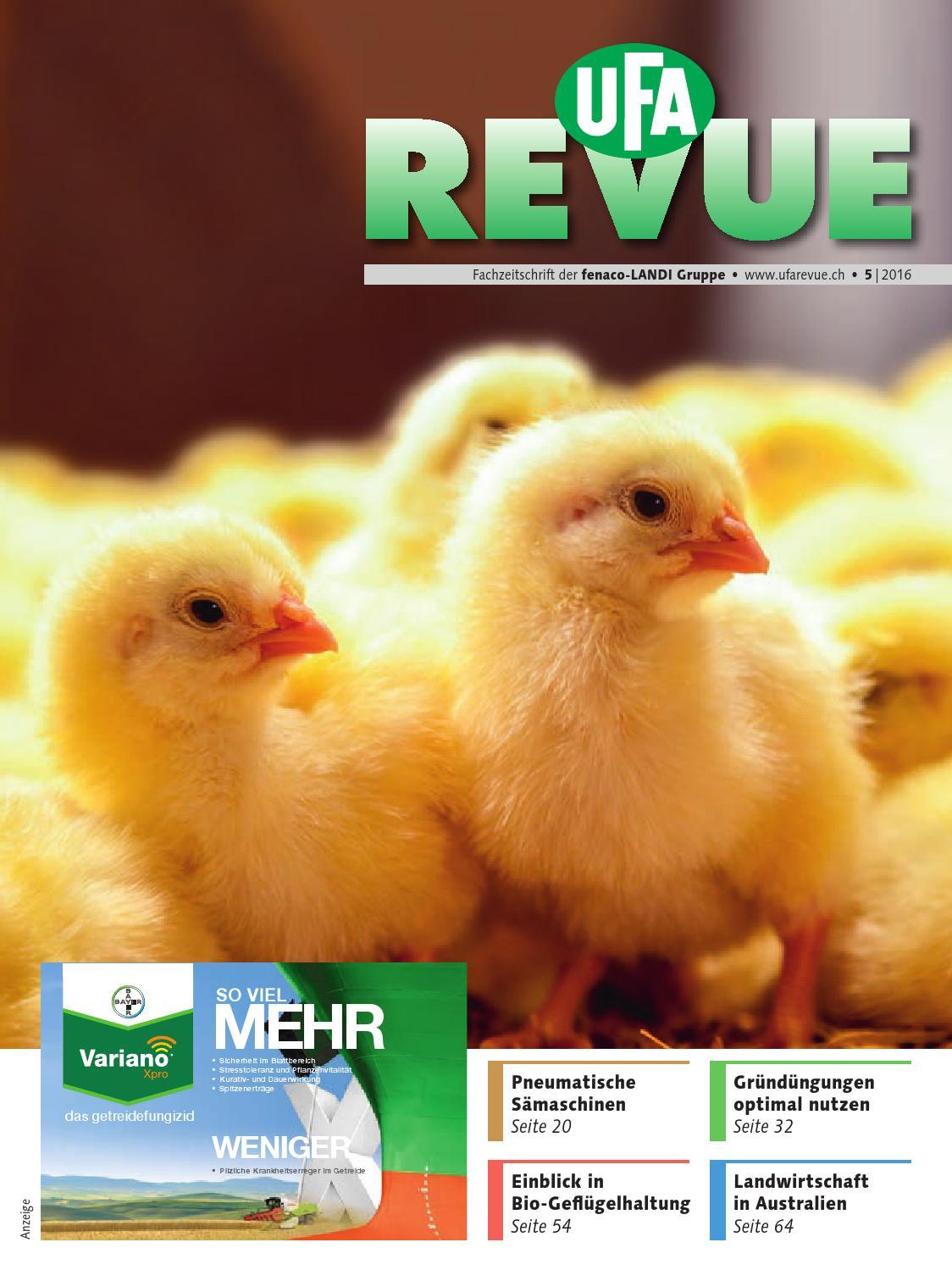 UFA-Revue 05/2016 by fenaco Genossenschaft - issuu