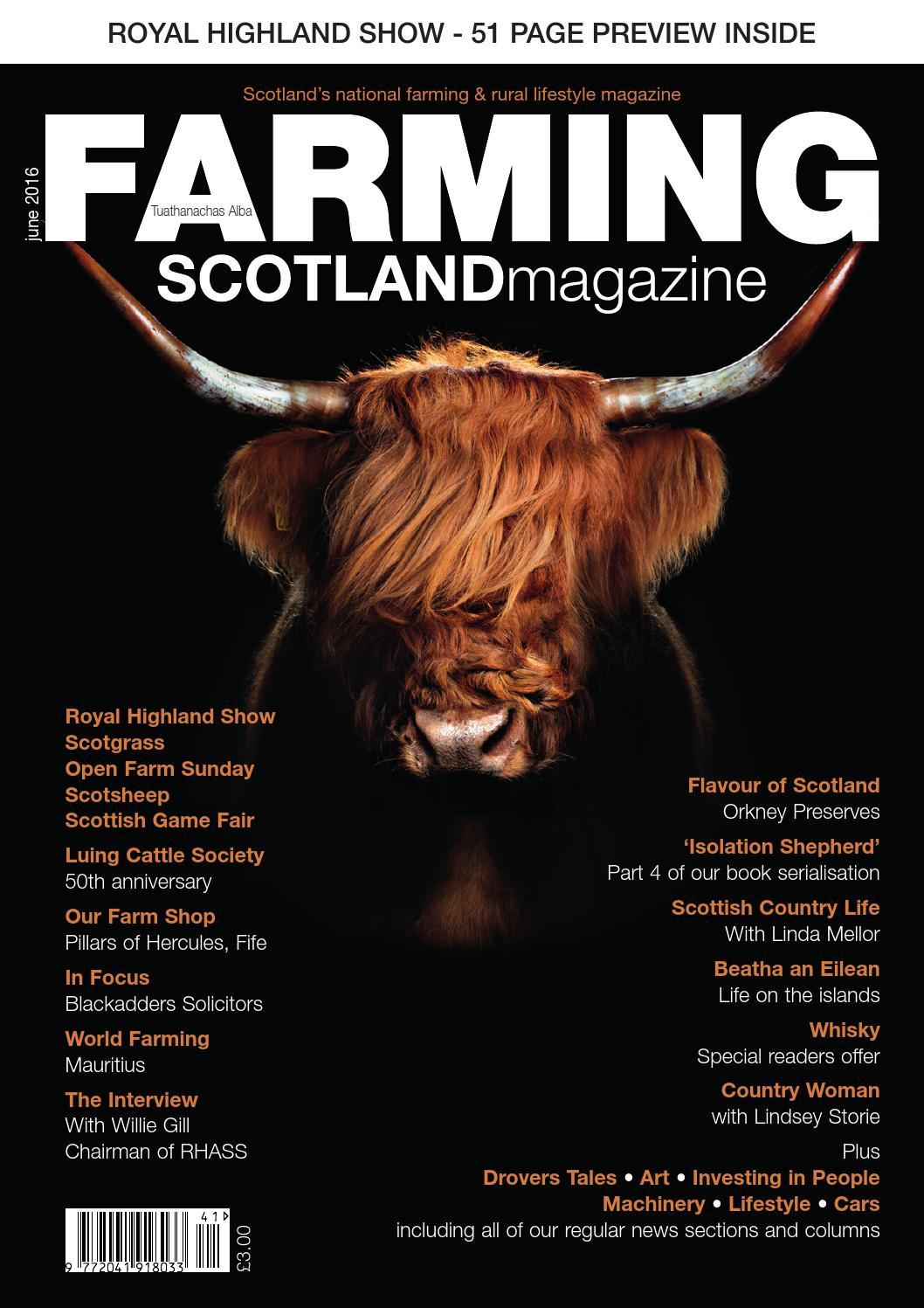 Farming Scotland Magazine (May - June 2016) by Athole Design   Publishing  Ltd - issuu 8f254677714